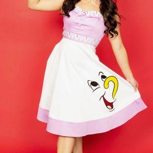 Disney Mrs. Pots dress